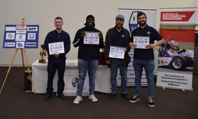 PAB Coventry Apprentices 2018