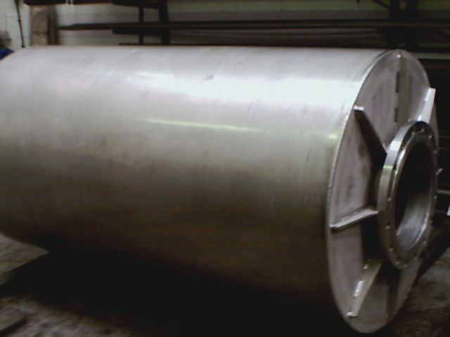 stainless duct blower